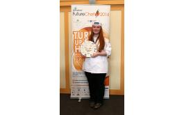 Image of FutureChef 2014 winner Anna Carmichael