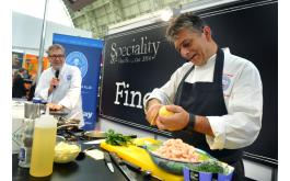 Image of Craft Guild's Martin Bates and Christopher Basten on stage at SFFF