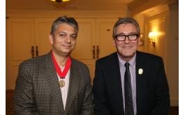 Image of Craft Guild chair Christopher Basten and CEO Martin Bates
