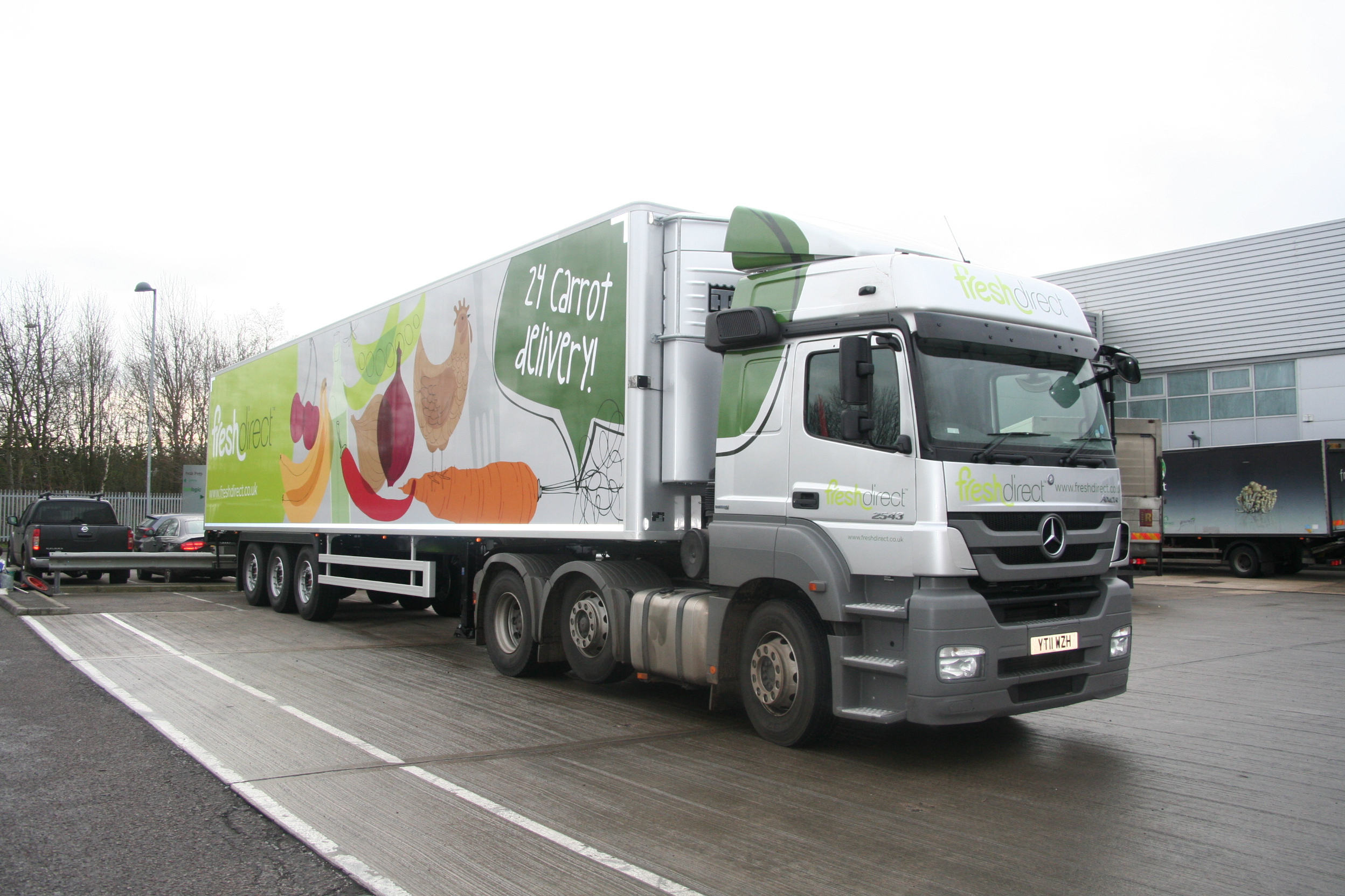 Fresh Direct Brakes Launch New Fresh Food Company The