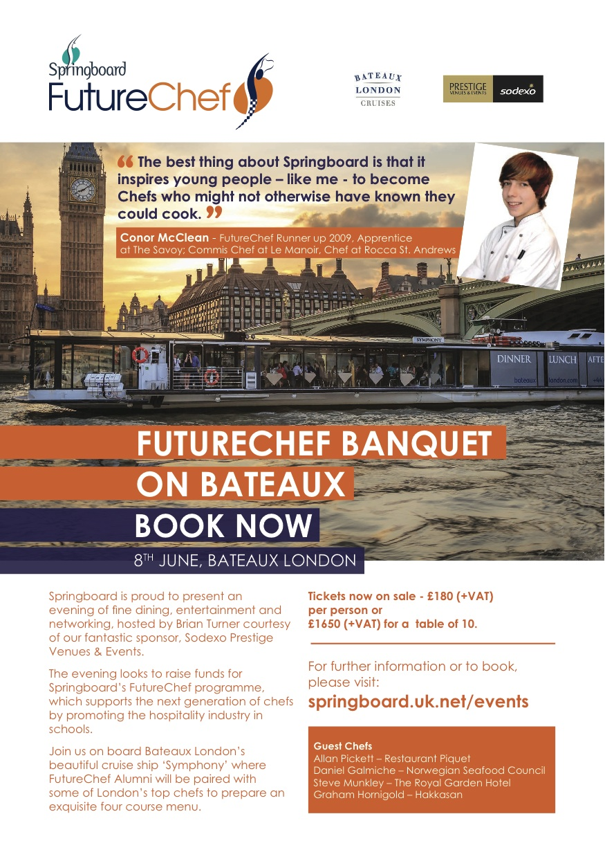 Final Spaces Available For Springboard S Futurechef