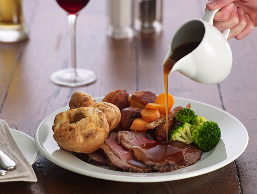 british roast dinner week competition challenges care home