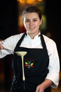 Alys Evans culinary team wales olympics