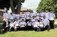 Elior Lexington Chef School graduation