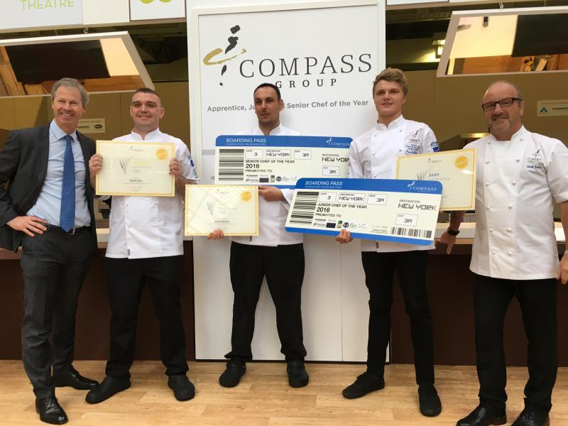 Compass Group crowns chef of the year at Restaurant Show ...