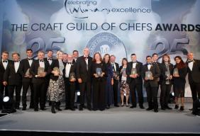Craft Guild of Chefs Awards 2019 Park Lane Hilton London event Marco Pierre White winners