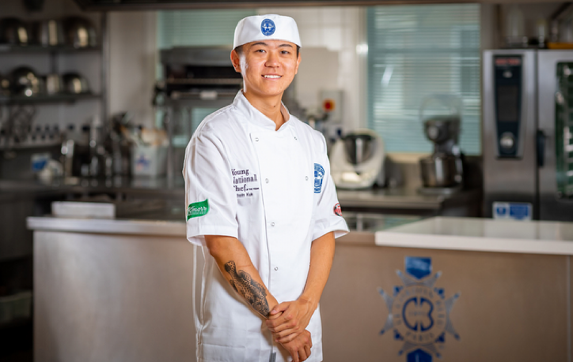 Edwin Kuk wins Young National Chef of the Year final